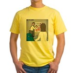 Eye Chart Yellow T-Shirt