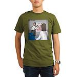 Eye Chart Organic Men's T-Shirt (dark)