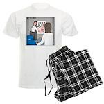 Eye Chart Men's Light Pajamas