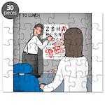 Eye Chart Puzzle