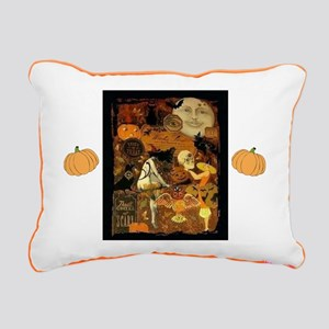 Witch's Stew Rectangular Canvas Pillow