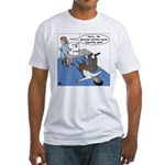 Glaucoma Machine Fitted T-Shirt