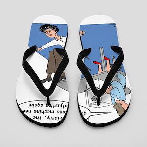 Glaucoma Machine Flip Flops