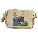 Glaucoma Machine Messenger Bag