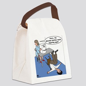 Glaucoma Machine Canvas Lunch Bag