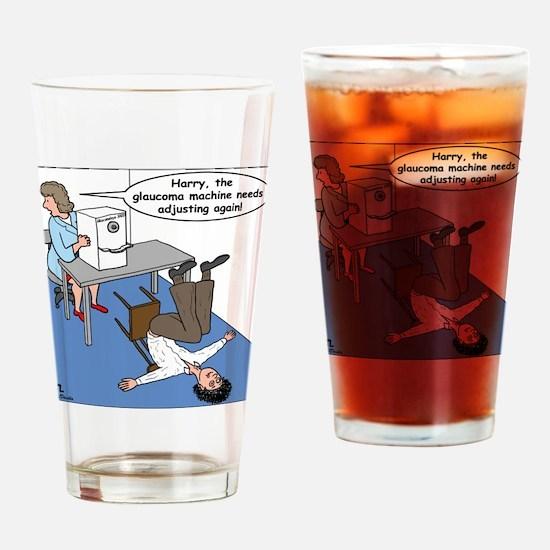 Glaucoma Machine Drinking Glass