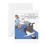 Glaucoma Machine Greeting Cards (Pk of 10)