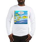 Fish Graduation Long Sleeve T-Shirt