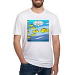 Fish Graduation Fitted T-Shirt