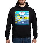 Fish Graduation Hoodie (dark)