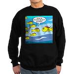 Fish Graduation Sweatshirt (dark)