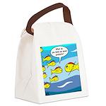 Fish Graduation Canvas Lunch Bag