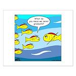 Fish Graduation Small Poster