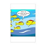 Fish Graduation Mini Poster Print