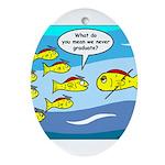 Fish Graduation Ornament (Oval)