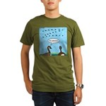 Geese Nonconformists Organic Men's T-Shirt (dark)