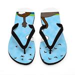 Geese Nonconformists Flip Flops
