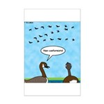Geese Nonconformists Mini Poster Print