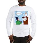 Cat Lady in Heaven Long Sleeve T-Shirt