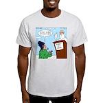 Cat Lady in Heaven Light T-Shirt