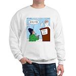 Cat Lady in Heaven Sweatshirt