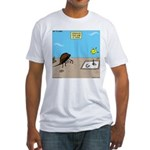 Horseshoe Crab Game Fitted T-Shirt
