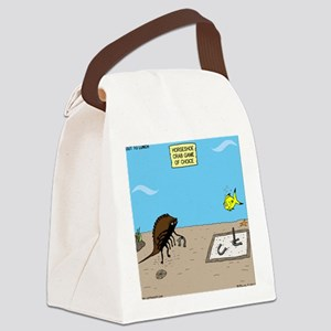 Horseshoe Crab Game Canvas Lunch Bag