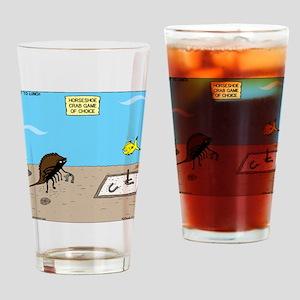 Horseshoe Crab Game Drinking Glass