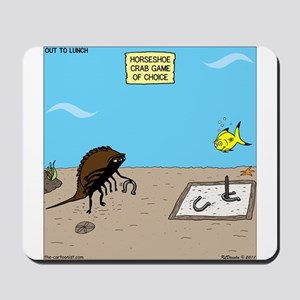 Horseshoe Crab Game Mousepad