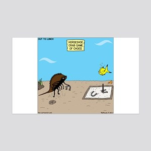 Horseshoe Crab Game 35x21 Wall Decal