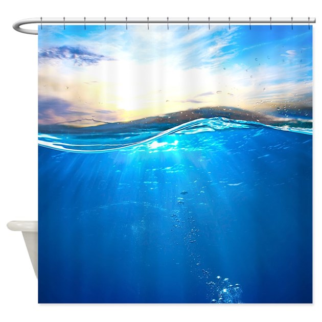 Underwater Ocean Shower Curtain By Bestshowercurtains