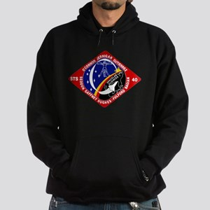 STS-40 Columbia Hoodie (dark)