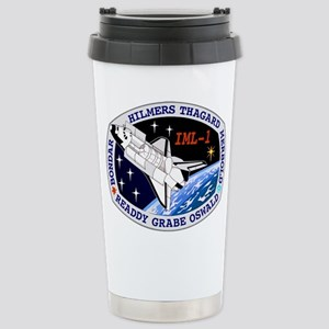 STS-42 Discovery Stainless Steel Travel Mug