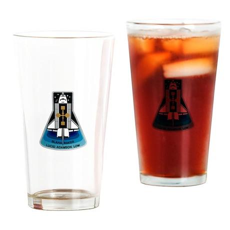 OV-104 Atlantis: STS 43 Drinking Glass