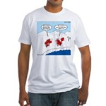 Lobster Vacation Fitted T-Shirt