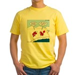 Lobster Vacation Yellow T-Shirt