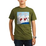 Lobster Vacation Organic Men's T-Shirt (dark)