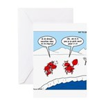 Lobster Vacation Greeting Card