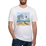 Nurse Shark Fitted T-Shirt