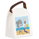 Nurse Shark Canvas Lunch Bag