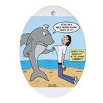 Nurse Shark Ornament (Oval)