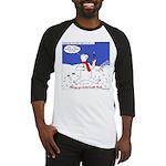 Polar Bear Penguin Pop Baseball Jersey