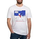 Polar Bear Penguin Pop Fitted T-Shirt