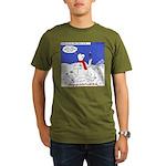 Polar Bear Penguin Pop Organic Men's T-Shirt (dark