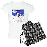 Polar Bear Penguin Pop Women's Light Pajamas