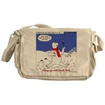 Polar Bear Penguin Pop Messenger Bag