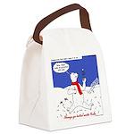 Polar Bear Penguin Pop Canvas Lunch Bag