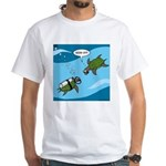 Seaturtle SCUBA White T-Shirt