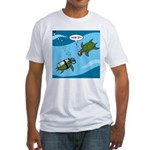Seaturtle SCUBA Fitted T-Shirt