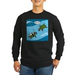 Seaturtle SCUBA Long Sleeve Dark T-Shirt